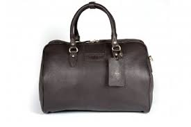 Harry - Medium Leather Holdall