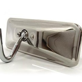 Morgan Librands Stainless Rear View Mirror